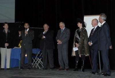 Inauguration du timbre dole