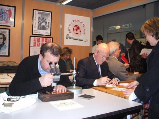 G . Vigoureux et P . Albuisson à Macon 2009