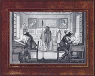 Graveurs au burin et à l'eau forte 1643
